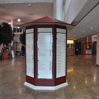 Informatiebord kiosk
